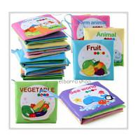 Mainan Buku Kain Edukasi Soft Book Bayi First Softbook/Cloth Book Baby