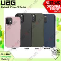 Case iPhone 12 Pro Max / 12 Mini / 12 Pro UAG Outback Biodegradable - iPhone12ProMax, Olive