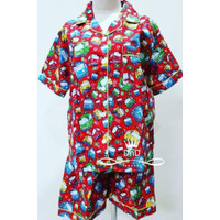 Diskongila Baju Tidur Setelan Dewasa Pajamas Tayo The Little Bus