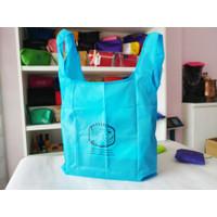 Baggu Tas belanja jinjing modis lipat / shopping bag (bisa SABLON)