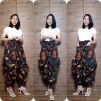 Miracle Celana Batik Shela Long Pants Aladin Jogger Wanita All Size
