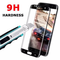Samsung Galaxy S6 Edge / Tempered Glass 3D Full Curved Anti Gores Kaca