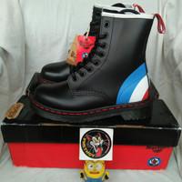 sepatu boots dr martens 1460 black the who mods vintage docmart casual