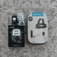 Paket Adventure Kit GoPro HERO 8 Black - Action Camera HERO8 Explorer - Paket Basic