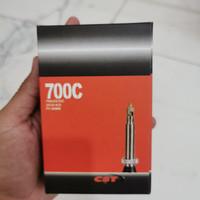 Ban dalam Roadbike merk CST 700C 700x25 per 32C 80mm