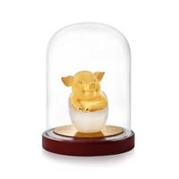 Pajangan Baby Born Shio BABI Lapis Emas 24 K (New Product)
