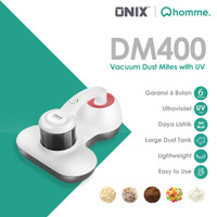 Onix Vacuum Cleaner Dm400 UV Anti Dust Mite HEPA alt Deerma Cm800
