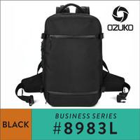Ozuko Travel Backpack #8983L - Black