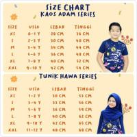 Kaos Tunik Sarimbit Baju Anak Couple Adik Kakak Little Muslim