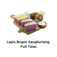 Kue Lapis Bogor Sangkuriang ~ Rasa FULL TALAS KEJU ~ 550 Gram