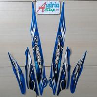 Striping Stiker Motor Yamaha Mio Sporty 2010 Biru
