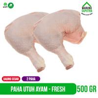 Daging Ayam Paha Utuh Atas dan Bawah Potong Segar Chicken Thighs 500g