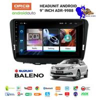 Head Unit Android Orca Suzuki Baleno Hatchback 9 inch Voice Comand PNP