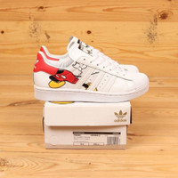adidas superstar x disney mickey mouse white