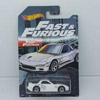 Hotwheels Hot Wheels Fast & Furious - 95 Mazda RX-7 Putih