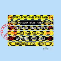 Stiker List Top Aquarium ukuran 100cm sampe 40cm