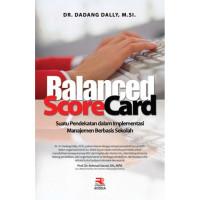 BUKU Balanced Scorecard ORIGINAL ROSDA