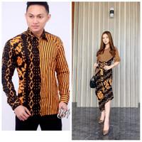 Couple Batik Terbaru/Terlaris/baju pasangan/Fashion pria wanita