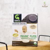 Gasol - Tepung Beras Hitam Organik / Black Rice Flour 200gr MPASI