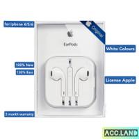Headset Earphone Handsfree Earpods Apple Iphone 5 5s 6 6s