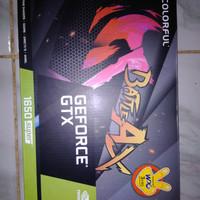 VGA GTX 1650 super garansi 2023 colorful GTX 1650s nb 4gb ddr6 fullset