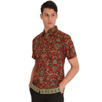 Hem Kemeja Baju Batik Pria Rianty Batik Hem Astasena