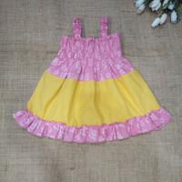 Baju Batik Bayi Smok Kombinasi Polos