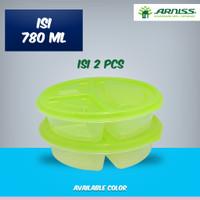 Arniss BB-0211 Green / Lunch Box / Tempat Makan
