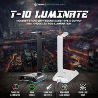 NYK Nemesis T-10 Luminate / NYK T10 Luminate Headset Stand RGB
