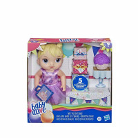 Baby Alive Party Present Baby Blonde Hair