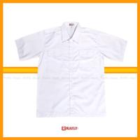 Baju Kemeja PDH PNS Pria Lengan Pendek Bahan Drill Tebal / Seragam PNS - S