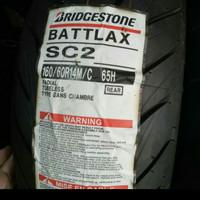 BAN LUAR BRIDGESTONE BATTLAX SC 2 UKURAN 160/60-14