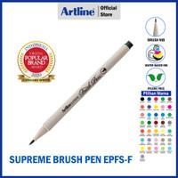 ARTLINE Spidol Supreme Brush Pen EPFS-F - PART 1