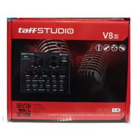 Taffware Bluetooth Audio USB External Soundcard Live Broadcast V8