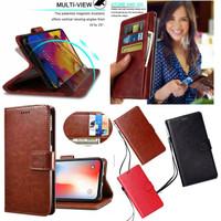 Case murah SAMSUNG Galaxy S6 flat leather flip cover wallet kulit