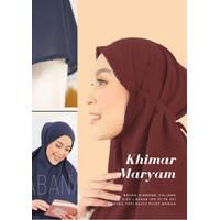 Kerudung Maryam Crochet/Picot Syari - Hijab Instan Bergo Crochet L