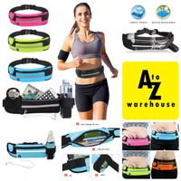 Running Belt Waterproof Tas Pinggang Running Bag Jogging Lari Olahraga