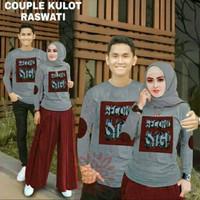 Baju couple kaos pasangan lengan panjang murah berkualitas