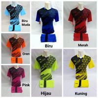 baju olahraga kaos setelan lining badminton