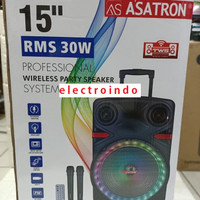 Speaker Portable Asatron 15 Inch New Asatron (LIVERPOOL)
