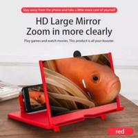 3D Enlarged Kaca Pembesar Layar HP 12 Nonton Video Film Portable