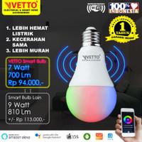 VETTO Smart Light Bulb 7W RGBWW - Wifi Wireless IoT Home Automation