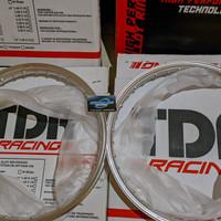 Velg TDR RACING ER Shape 140 Silver RING 17