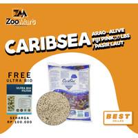 CaribSea Arag-Alive Fiji Pink 20 lbs / pasir laut