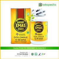 Obat Herbal infeksi lambung, tukak lambung - Goldmax Gamat Emas Kapsul