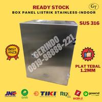 Box Panel Listrik Stainless 400x300x200mm SUS 316 1.5mm-Indoor-Doff-GT