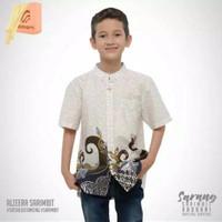 Rabbani Kemko Anak Alzeera Sarang Baju Koko Baju Muslim Anak