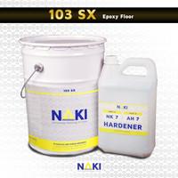 Cat Lantai Epoxy Self Leveling NAKI 103 SX 20 Kg Set - Abu-abu