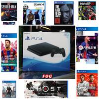PS4 Slim 500 giga OFW terbaru Fullgame digital bebas pilih
