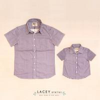 Kemeja Anak Laki dan Dewasa Louis Shirt Lacey Atelier